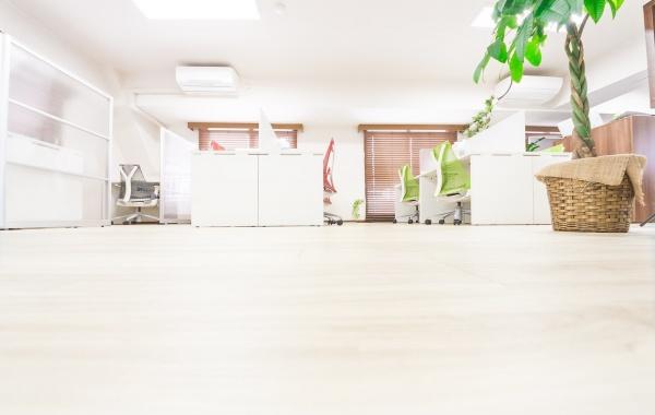 オフィスがきれい